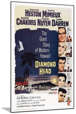 Diamond Head, 1963--Mounted Art Print