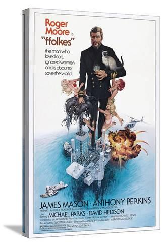 Folkes, (aka North Sea Hijack), Roger Moore, 1979--Stretched Canvas Print