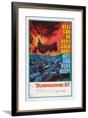 Submarine X-1, 1968--Framed Art Print