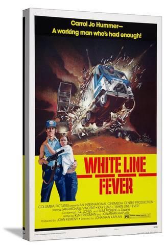 White Line Fever, Jan-Michael Vincent, Kay Lenz, 1975--Stretched Canvas Print