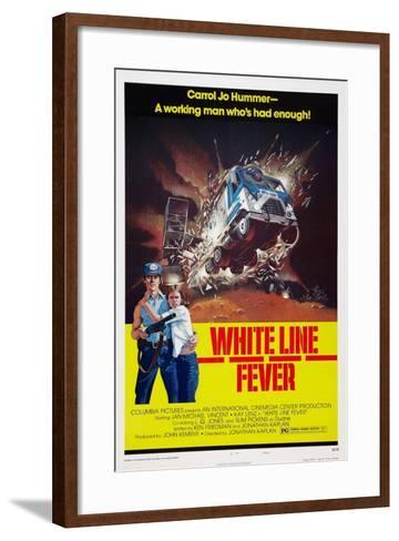 White Line Fever, Jan-Michael Vincent, Kay Lenz, 1975--Framed Art Print