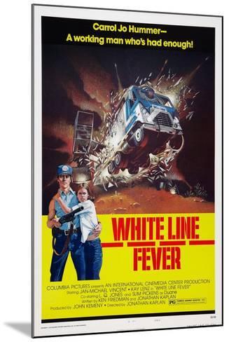 White Line Fever, Jan-Michael Vincent, Kay Lenz, 1975--Mounted Art Print
