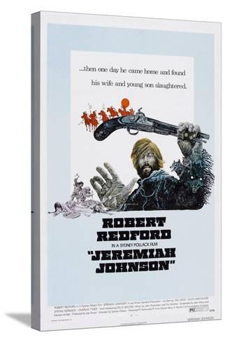 Jeremiah Johnson, Robert Redford, 1972--Stretched Canvas Print