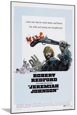 Jeremiah Johnson, Robert Redford, 1972--Mounted Art Print
