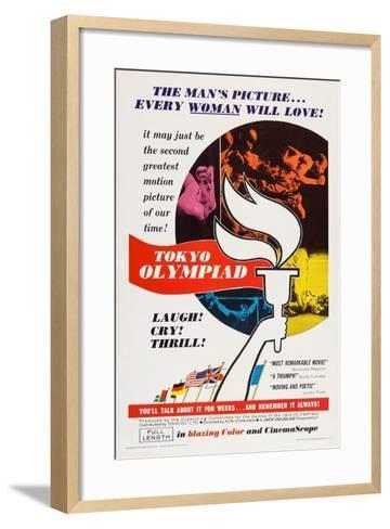 Tokyo Olympiad, (Aka Tokyo Orinpikku), 1965--Framed Art Print