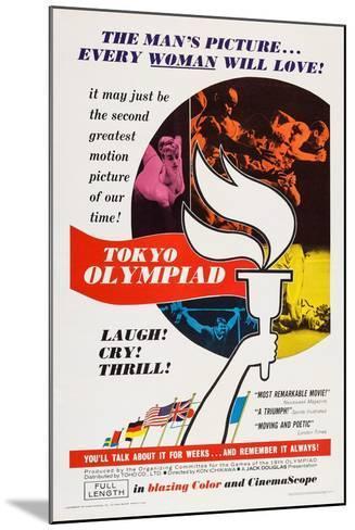 Tokyo Olympiad, (Aka Tokyo Orinpikku), 1965--Mounted Art Print