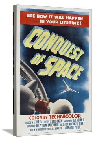 Conquest of Space, 1955--Stretched Canvas Print