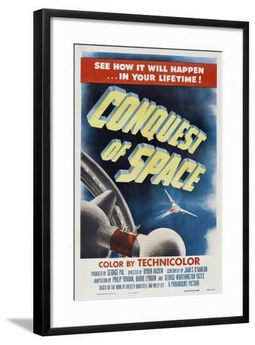 Conquest of Space, 1955--Framed Art Print