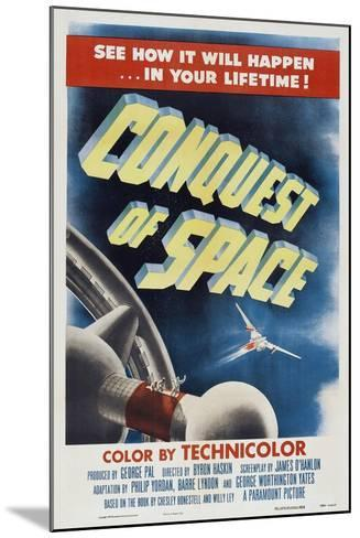 Conquest of Space, 1955--Mounted Art Print