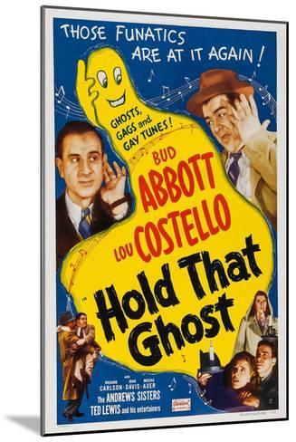 Hold That Ghost, 1941--Mounted Art Print
