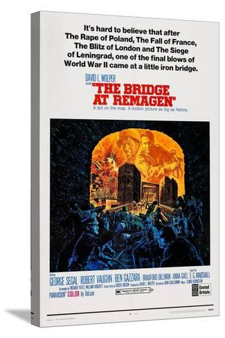 The Bridge at Remagen, Top from Left: George Segal, Ben Gazzara, 1969--Stretched Canvas Print