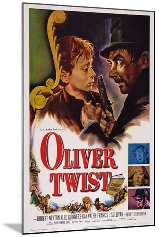 Oliver Twist, John Howard Davies, Robert Newton, 1948--Mounted Art Print