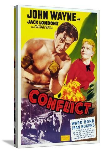 Conflict, 1936--Stretched Canvas Print