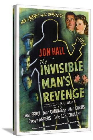 The Invisible Man's Revenge--Stretched Canvas Print