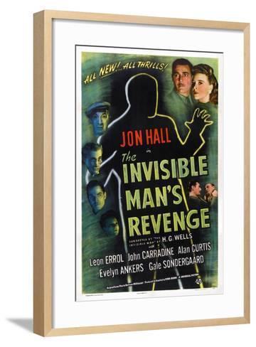 The Invisible Man's Revenge--Framed Art Print