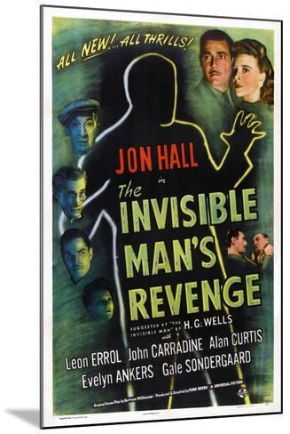 The Invisible Man's Revenge--Mounted Art Print