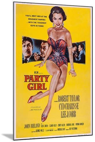 Party Girl, from Left: Robert Taylor, Lee J. Cobb, Cyd Charisse, Robert Taylor, John Ireland, 1958--Mounted Art Print