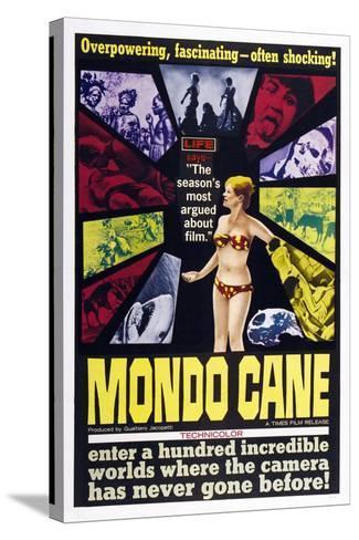 Mondo Cane, 1962--Stretched Canvas Print