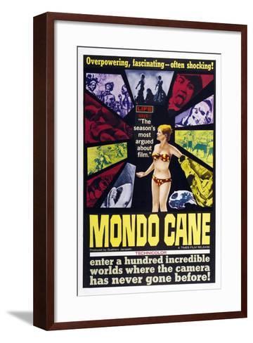 Mondo Cane, 1962--Framed Art Print
