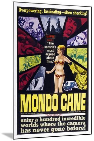 Mondo Cane, 1962--Mounted Art Print