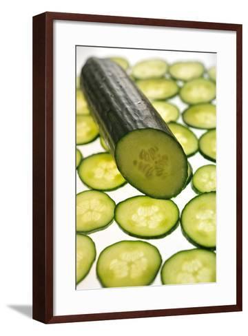 Cucumber-Frank May-Framed Art Print