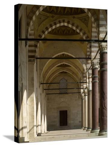 Suleymaniye Mosque, 1550-57-Mimar Sinan-Stretched Canvas Print