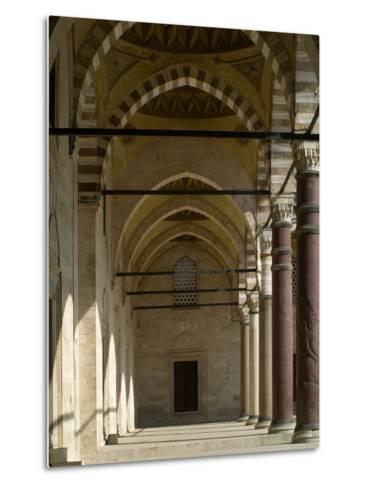 Suleymaniye Mosque, 1550-57-Mimar Sinan-Metal Print