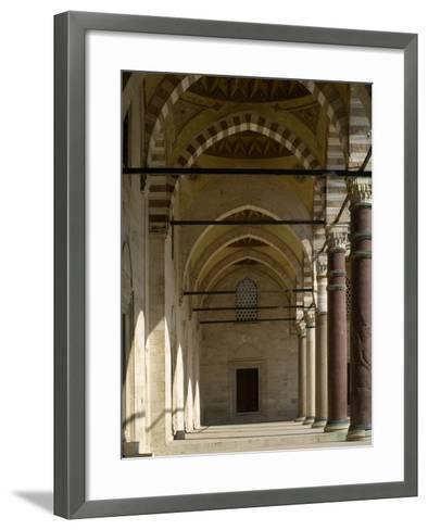Suleymaniye Mosque, 1550-57-Mimar Sinan-Framed Art Print