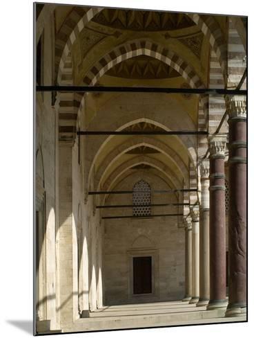 Suleymaniye Mosque, 1550-57-Mimar Sinan-Mounted Photo