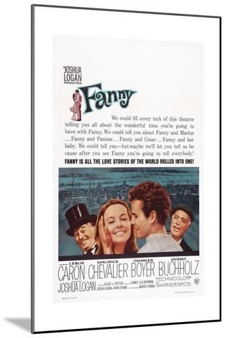 Fanny, from Left: Maurice Chevalier, Leslie Caron, Horst Buchholz, Charles Boyer, 1961--Mounted Art Print