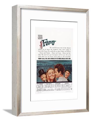 Fanny, from Left: Maurice Chevalier, Leslie Caron, Horst Buchholz, Charles Boyer, 1961--Framed Art Print
