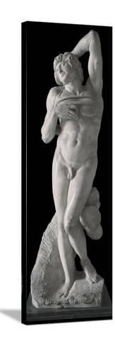 Dying Slave-Michelangelo Buonarroti-Stretched Canvas Print