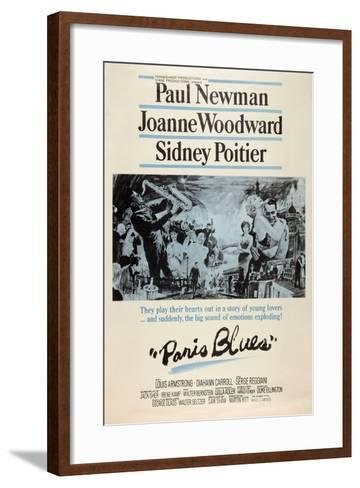 Paris Blues, 1961--Framed Art Print