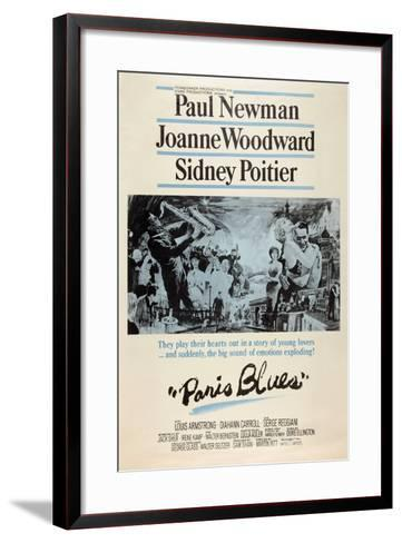 Paris Blues, 1961--Framed Art Print