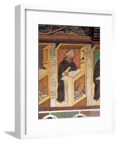 Saint Albert the Great (Albertus Magnus), 1352-Tommaso Barisini-Framed Art Print