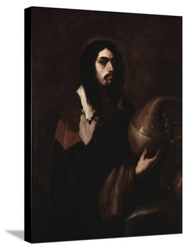 Self-Portrait as an Alchemist-Luca Giordano-Stretched Canvas Print
