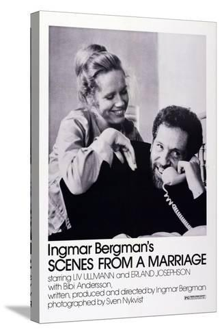 Scenes from a Marriage, Liv Ullmann, Erland Josephson, 1973--Stretched Canvas Print