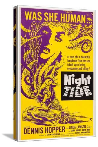 Night Tide, 1961--Stretched Canvas Print