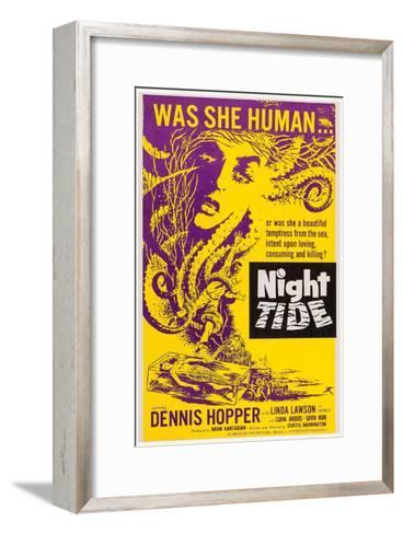 Night Tide, 1961--Framed Art Print