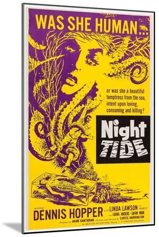 Night Tide, 1961--Mounted Art Print
