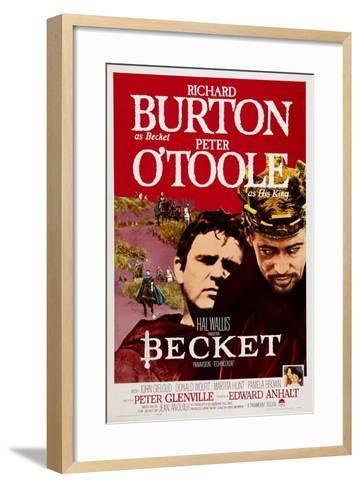Becket, Richard Burton, Peter O'Toole, 1964--Framed Art Print