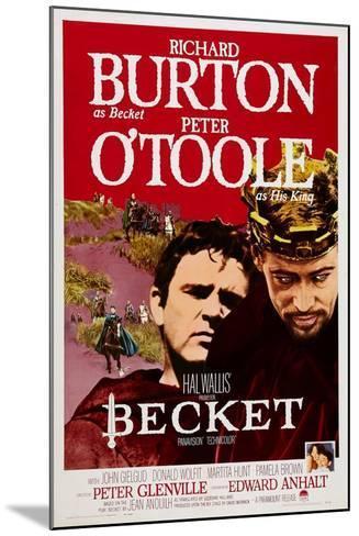 Becket, Richard Burton, Peter O'Toole, 1964--Mounted Art Print