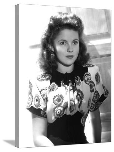 Since You Went Away, Shirley Temple, 1944--Stretched Canvas Print