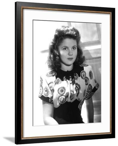 Since You Went Away, Shirley Temple, 1944--Framed Art Print