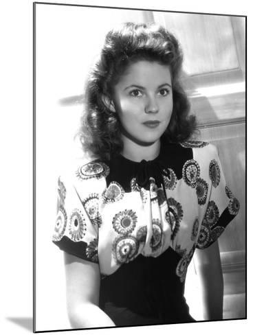 Since You Went Away, Shirley Temple, 1944--Mounted Photo