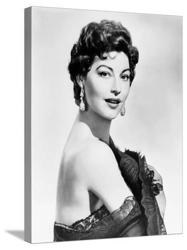 The Naked Maja, Ava Gardner, 1958--Stretched Canvas Print