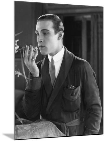 Beyond the Rocks, Rudolph Valentino, 1922--Mounted Photo