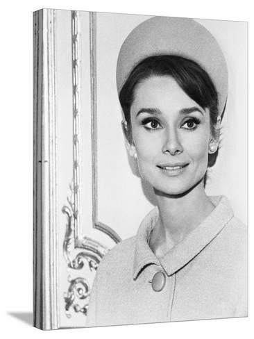 Charade, Audrey Hepburn, 1963--Stretched Canvas Print
