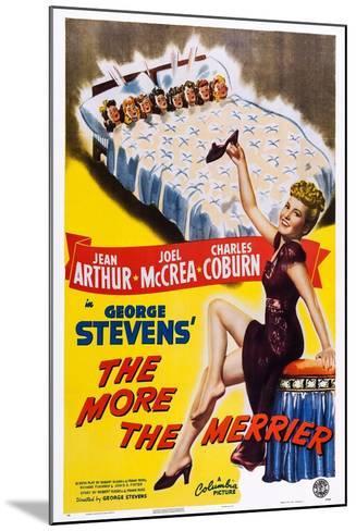 The More the Merrier, Jean Arthur, 1943--Mounted Art Print