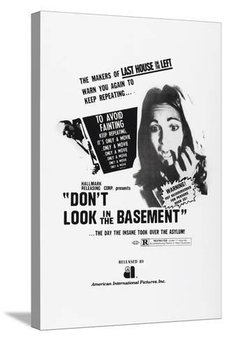 Don't Look in the Basement, 1973--Stretched Canvas Print